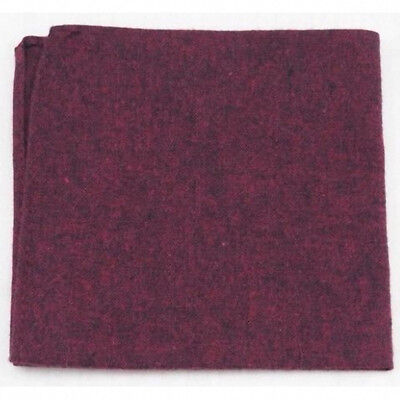 Red Pocket Review (New Burgundy Red Cotton Pocket Square. Excellent Quality & Reviews.)