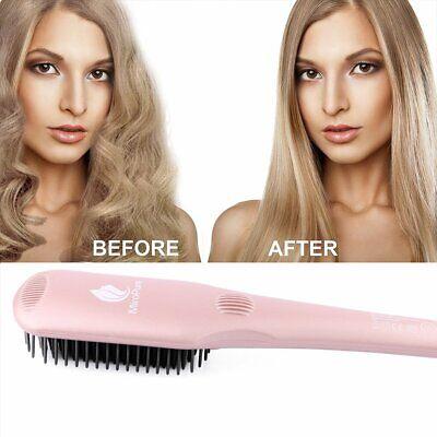 The Best Hair Straightener Heat Brush by MiroPure -- Great Gift for your (The Best Brush For Your Hair)