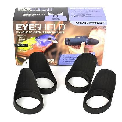- 2 Pairs Field Optics Bino Standard Eyeshields Bird Watch Eye Cups B008 Twin Pack