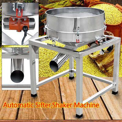 Automatic Vibrating Sifter Machine For Industrial Powder Sieve Grain Food Shaker