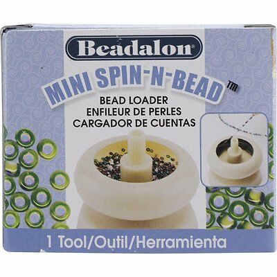 Beadalon Mini Spin-N-Bead Seed Bead Spinner  Spin  ~ IN STOCK SHIPS TODAY