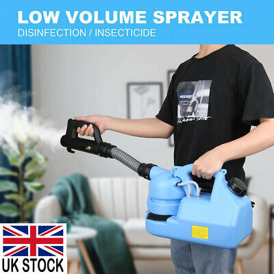 7L ULV Electric Fogger Disinfection Sprayer Mosquito Kille Office Home 6-8M UK