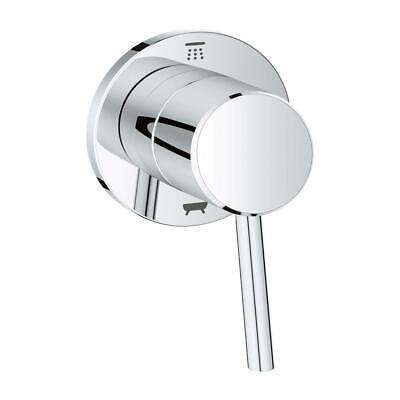 GROHE Concetto 1-Handle Diverter Valve Only Trim Kit in StarLight Chrome  (Grohe Concetto Starlight)