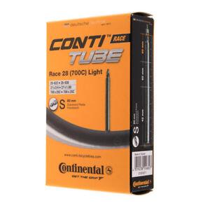 New 2018 Continental Race 28 Light 700c 18/25  Road Bike Inner Tube 80mm Presta