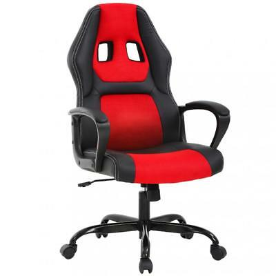 Home Office Chair, Ergonomic Executive PU Gaming Chair, Roll
