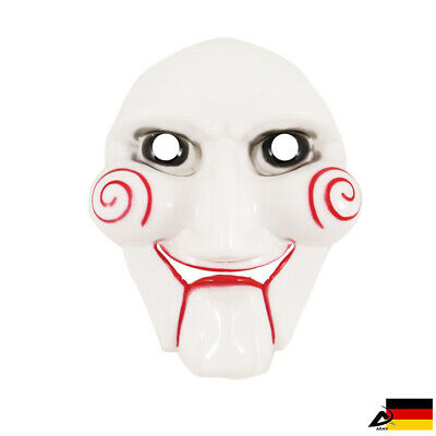 Saw Maske Gruseliger Clown Puppe Halloween Fasching Karneval - Joker Clown Maske