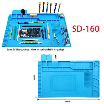 S-160 Anti-static Solder Rework Mat Heat Insulation Computer Silicone Repair Pad