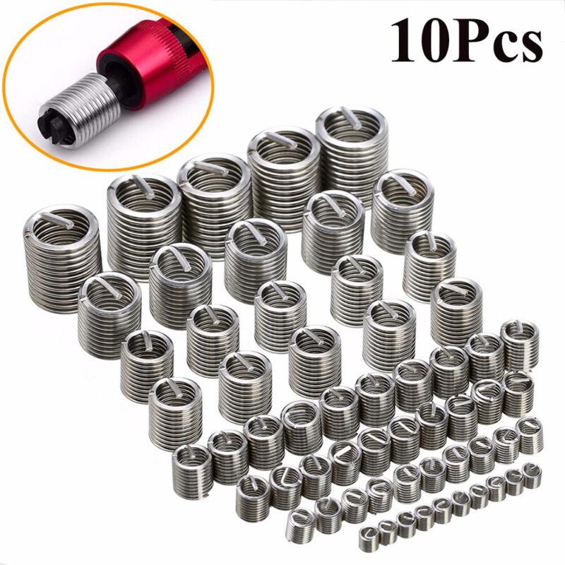 Steel Useful Durable Helicoil Fastener Accessories Repair Tool Threaded Insert