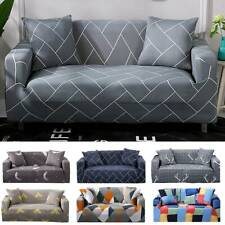 2/3 Seater Elastic Sofa Covers Slipcover Settee Stretch Couch Protector CA