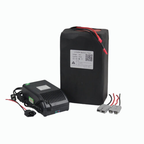 36v 30Ah Lithium LiFePO4 Rechargeable Battery Pack for 1000W