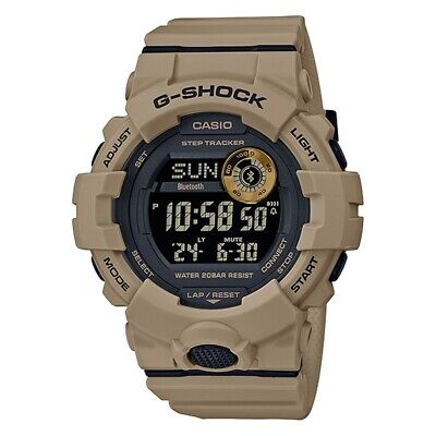 NEW Casio G-shock GBD800UC-5A G-Squad Bluetooth Military Brown Resin Watch