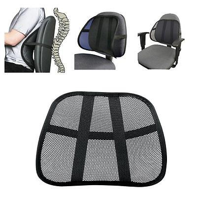 Cool Vent Cushion Mesh Back Lumbar Support New Car Office Ch