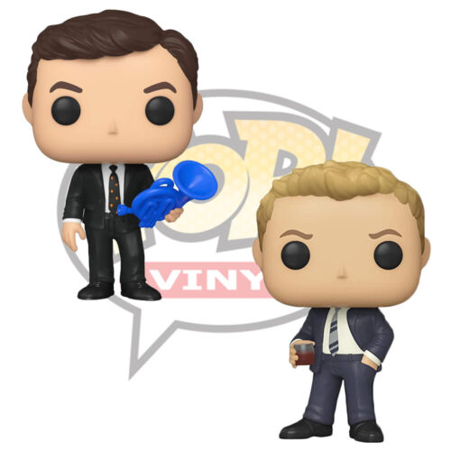 Official How I met Your Mother Ted Mosby & Barney Stinson Funko Pop Vinyl Figure
