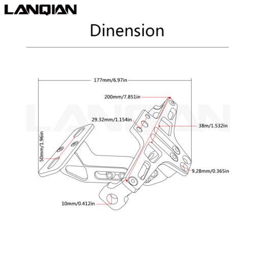 New License Plate Bracket Holder&Turn signal For YAMAHA