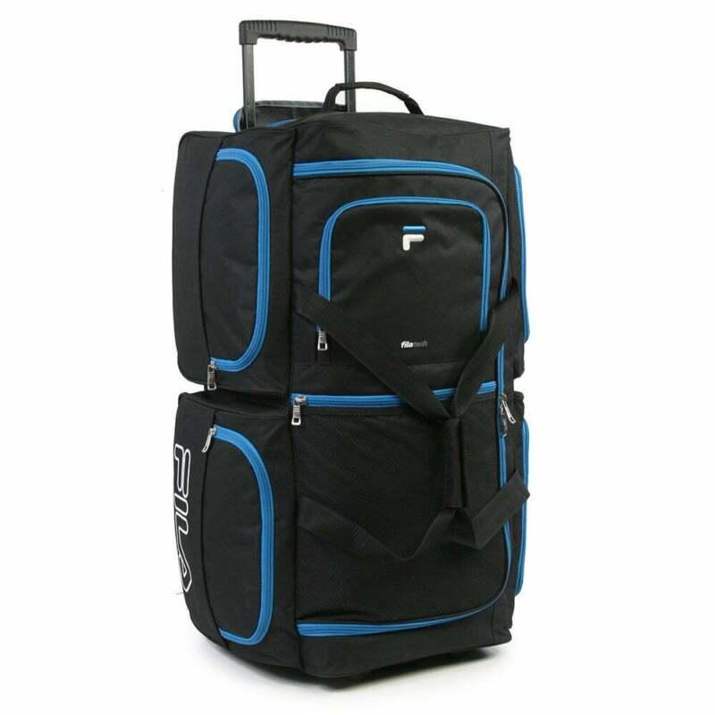 Fila 7-pocket 30-inch Large Rolling Duffel Bag