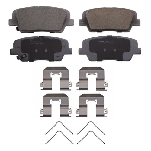 Disc Brake Pad Set-ThermoQuiet Disc Brake Pad Rear Wagner QC792B