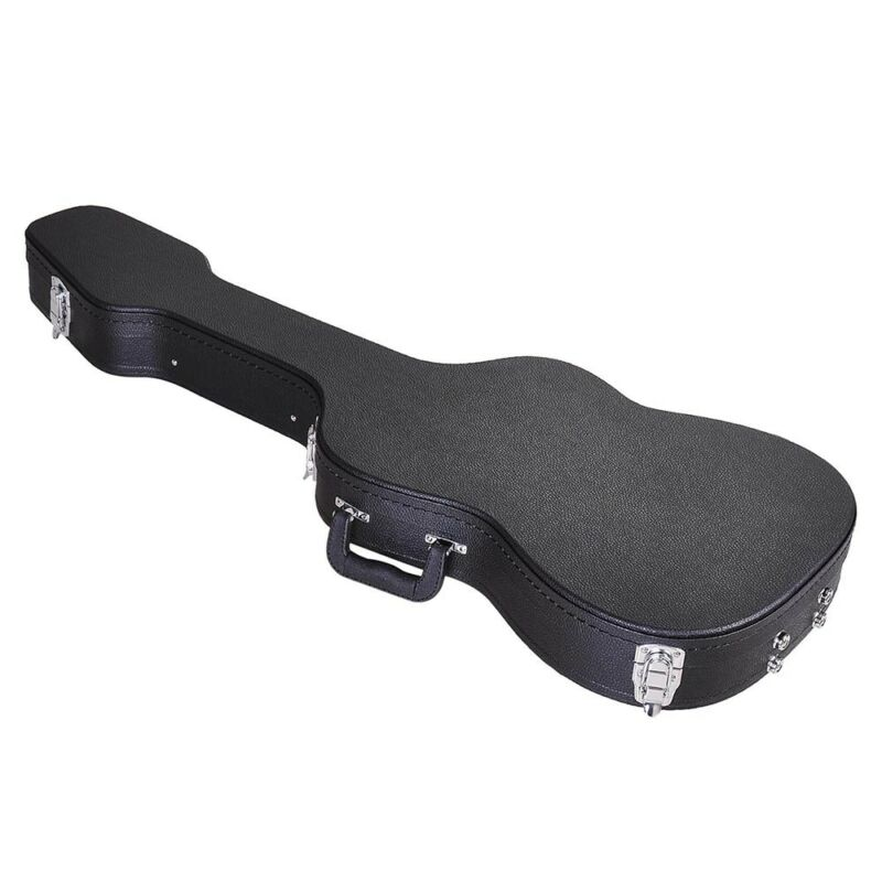 Stratocaster & Telecaster Type Electric Guitar Carrying Case Hardshell Lockable