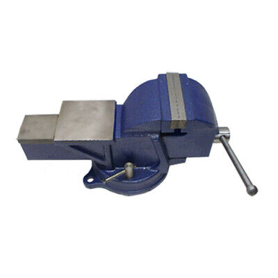 5 Vise Anvil Work Bench Table Top Clamp W 120 Swivel Base
