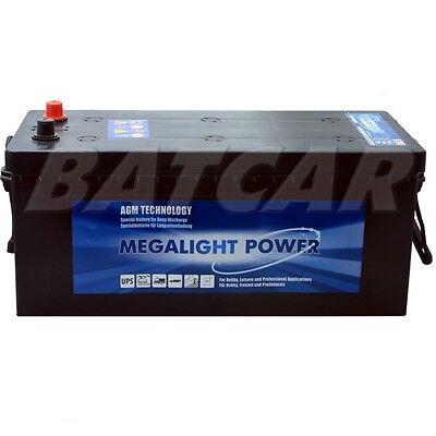 BIG LKW Batterie 12V 200Ah 700038125 Nutzfahrzeug Traktor Schlepper statt 180Ah