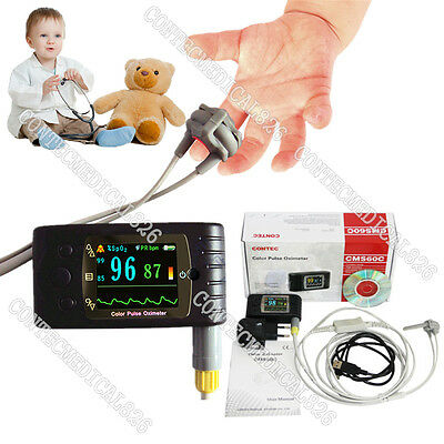 Ceneonatal Infant Pediatric Kids Born Pulse Oximeter Spo2 Monitor Usbcms60c