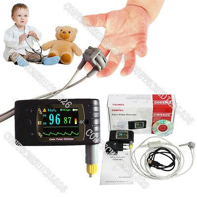 Ceneonatal Infant Pediatric Kids Born Pulse Oximeter Spo2 Monitor Usbcms60c