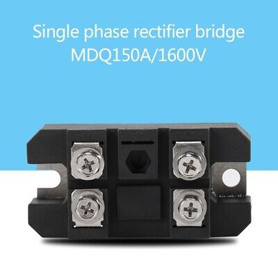 1pc Single-phase Diode Bridge Rectifier Module 150a Amp High Power 1600v