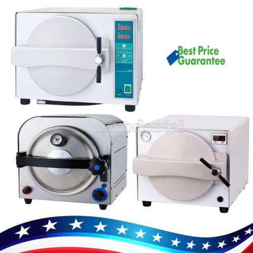 18/14L Dental Clinic Steam Sterilizer Autoclave Medical Sterilization Equipment