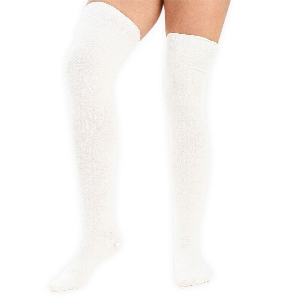 1c6bfe1ae Girls and Womens Over the knee School Socks