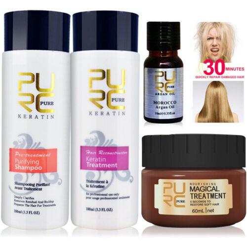 Brazilian Keratin Straightening Damaged Dry Hair Repair Trea