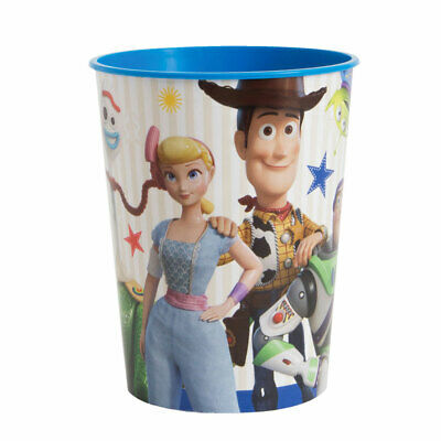 Toy Story Cup (Toy Story 4 Movie Birthday Party Supplies PLASTIC SOUVENIR DRINKING)