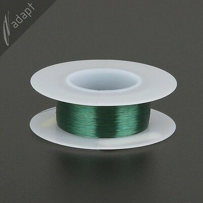 Magnet Wire Enameled Copper Green 38 Awg Gauge 155c 116 Lb 1206 Spn