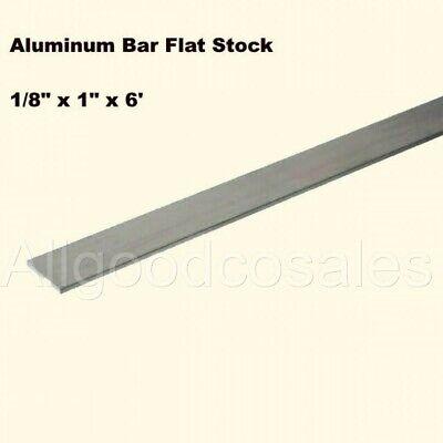 Aluminum Bar Flat Stock 18 X 1 X 6 Ft Unpolished 6061 Alloy 72 Length