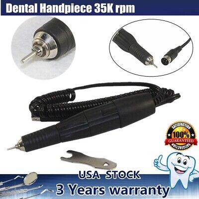 Dental Lab Micromotor Polisher Handpiece 35k Rpm High Speed Polishing