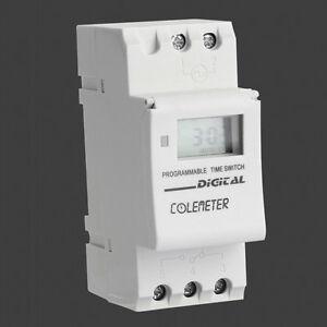 LCD-TIMER-TEMPORIZZATORE-GIORNALIERO-INTERRUTTORE-RELE-16A