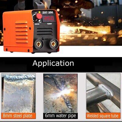 Arc Welding Machine Mini Electric Igbt Dc Inverter 220v Portable Stick Mma 250a