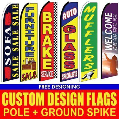 15 Custom Feather Flag Outdoor Flag Custom Flag Banner Feather Banner