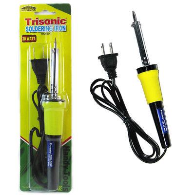 New Soldering Iron 30 Watt 110v Electric Welding Solder Tools Gun Pencil Crafts