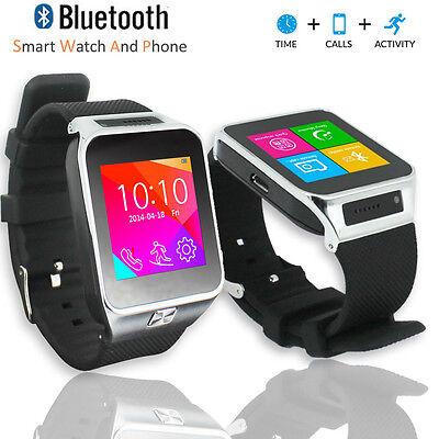 SWAP2 GSM Touch Screen Bluetooth Camera MP3 Wireless Smart Watch Phone Unlocked! Unlocked Gsm Touchscreen