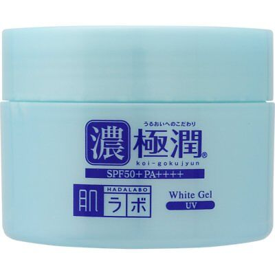 Rohto Gokujun Hada Labo UV White Gel SPF 50+ PA++++ 90g / 3.17oz
