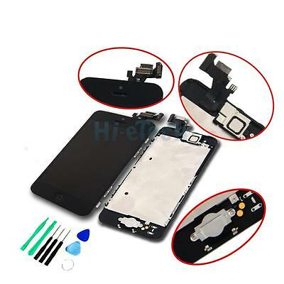 Black LCD Lens Touch Screen Display Digitizer Assembly Replacement for iPhone 5C on Rummage