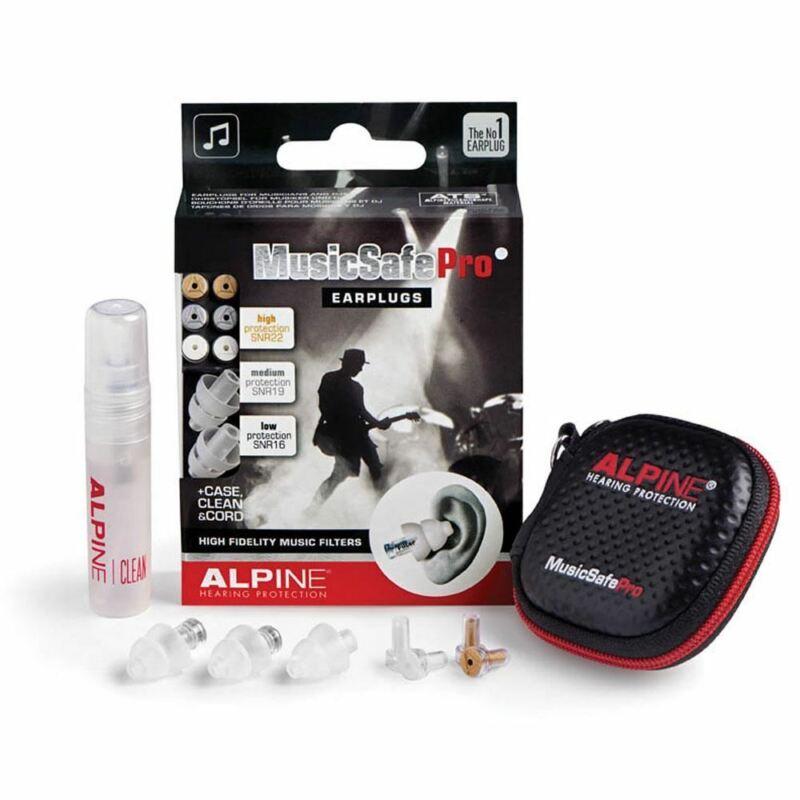 Alpine Musicsafe Pro Transparent Earplugs