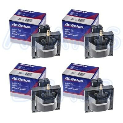 ACDelco Premium High Performance Ignition Coil Set of 4 BS3005 For Chevrolet GMC