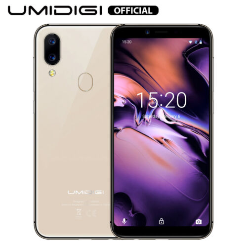 Android Phone - Smartphone UMIDIGI A3 Global unlocked Android Quad Core 16GB 2GB 5.5In Dual SIM