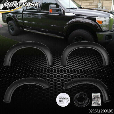 For 1999-2007 Ford F250 F350 Super Duty Bolt-On Rivet Pocket Style Fender (Ford F250 Fender Flares)