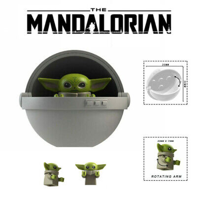 Baby Yoda The Child Yada Mandalorian Mini figure Building Blocks Toy Kids Gift