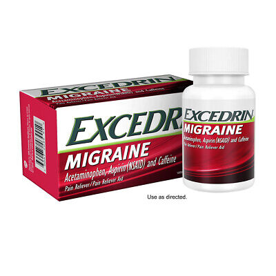 Excedrin Migraine for Migraine Relief, Geltabs, 80 count, Best by (Best Pain Relief For Migraine Headaches)