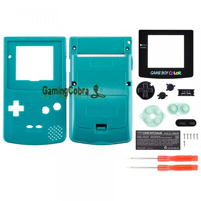 Color Full Housing (Full Housing Shell Replacement Part for Nintendo Game Boy Color GBC Baby Blue )