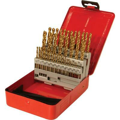 Grizzly G9753 Tin Coated Drill Set - 50 Pc. Metric