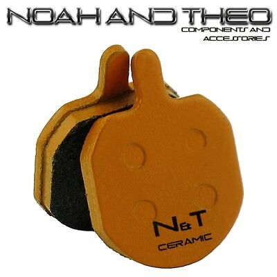 N&T Cannondale Helix 6 Bengal Strida Ares Ceramic Disc Brake Pads