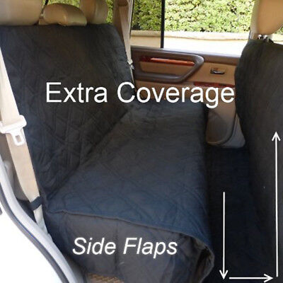 SUV Truck Van Car Back Seat Cover Dog Pet Quilted Padded Extra Coverage Large Quilted Back Pad